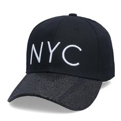 New cotton Letter NYC Baseball Cap Snapback hat for Men casquette women Leisure Outdoor Sport Hat wholesale fashion Accessories #Affiliate