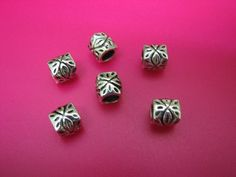 15 Tibetan Silver Patterned Euro Beads. Starting at $5 on Tophatter.com!    http://tophatter.com/auctions/16428  Sat Mar 2 8 PM EST