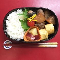 Simmered yellowtail with Japanese radishes – Japanese lunch box