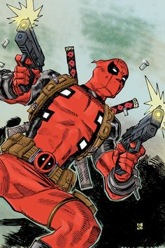 Deadpool Again color by deankotz