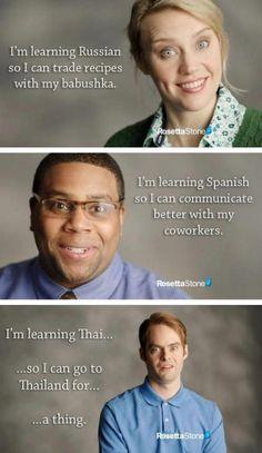 SNL - Rosetta Stone Commercial
