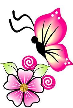 Arte Alien, Different Flowers, Minnie Mouse, Cricut, 3d, Deco, Disney Characters, Nail Stuff, Butterflies