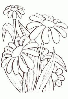 10 Melhores Imagens De Flores Para Colorir Flores Para Colorir