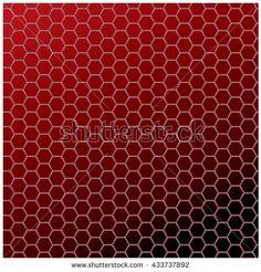 Hexagonal Grid Background Vector Illustration