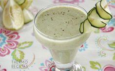 Crema refrescante de pepino a la menta - http://www.thermorecetas.com/crema-refrescante-de-pepino-a-la-menta/