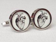 Mens cufflinks by PhotoJule on Etsy, $35.00