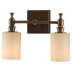 Buy the Feiss Heritage Bronze Direct. Shop for the Feiss Heritage Bronze Sullivan 2 Light ADA Bathroom Vanity Light and save. Glass Pendant Light, Vanity Lighting, Ada Bathroom, Bath Vanity Lighting, Light Fixtures, Bathroom Wall Lights, Sophisticated Bathroom, Light, Bathroom Sconces