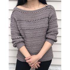 Cardigan Au Crochet, Sweater Knitting Patterns, Knitting Sweaters, Free Knitting, Knitting Machine, Baby Sweaters, Sweaters For Women, Pull Crochet, Knit Crochet