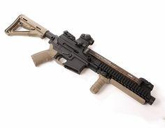 AR-57 with internal silencer
