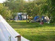 fijne kleine camping, hartje frankrijk