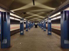 Subway station, NYC