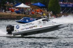 Chris Fairchild gets some air during the Graham Trucking Seafair Cup race during Seafair 2015. Seafair, the traditional summer Seattle festival, brings hydroplane boats to Lake Washington and aircraft to the skies above for the weekend's Boeing Air Show. Photographed on Sunday, August 2, 2015.