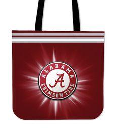 Alabama Crimson Tide Flashlight Tote Bags – Best Funny Store