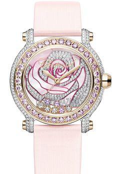 Chopard #pink diamond rose watch