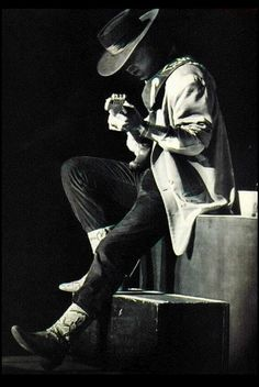 Stevie Ray Vaughan. Amazing blues musician! Love his work. Too bad he is gone.