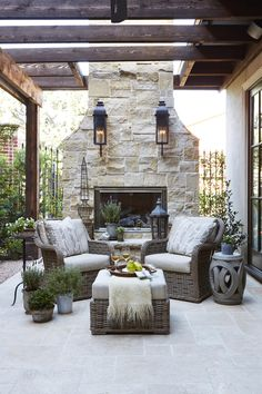 <p>Tour these outdoor living spaces with a French twist</p>