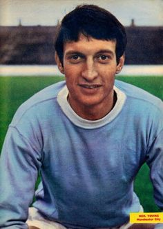 Neil Young of Man City in 1969.