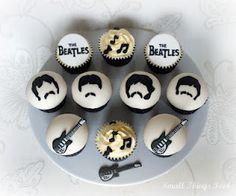 Beatles Cupcakes