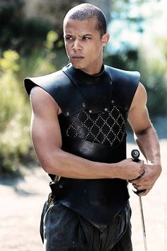 Grey Worm of the Unsullied. Game of Thrones. I actually think he's kinda hot