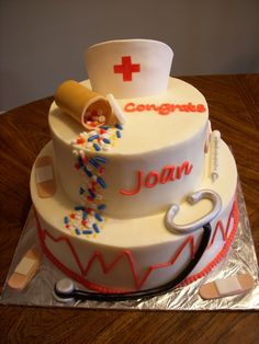 Nursing School cake!!