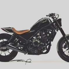 Honda Rebel 500 2017 black custom