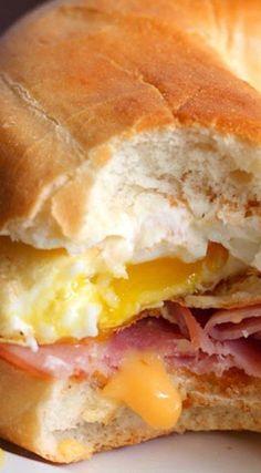 Rise and Shine Breakfast Bagel Sandwich