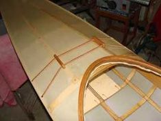 leather deck lines look nice but tend to stretch Wooden Kayak, Kayaking Gear, Canoe And Kayak, Small Boats, How To Look Better, Flooring, Gallery, Frame, Deck