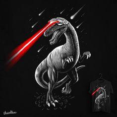 Laser Raptor on Threadless