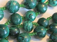 Malachite Jewelry is a Must-Have for Spring  Fashions -click through to read the full post from the Found in the Jewelry Box Blog!
