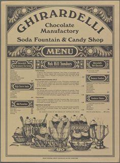 Ghirardelli Soda Fountain & Candy Shop