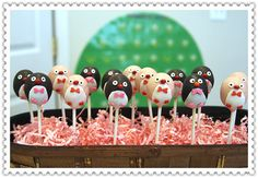 Penguin cake pops by myangelpops on Etsy, $39.99