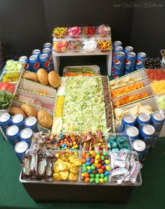 Discover how to build the ultimate snack stadium