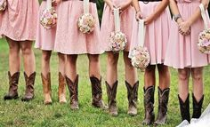 We love everything about this Real Country Wedding:  http://www.countryoutfitter.com/style/real-country-wedding-courtny-cordosa/