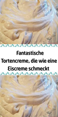 Fantastic cake cream that tastes like ice Fantastische Tortencreme die wie eine Eiscreme schmeckt A fantastic cream for filling cakes and pastries. After the condensed milk cream, this cream took second place. Ganache Icing, Tomato Risotto, Cake Recipes, Dessert Recipes, Scones Ingredients, Amazing Wedding Cakes, Summer Desserts, Relleno, Condensed Milk