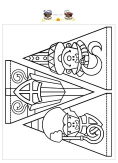 slingers stefan cent - Apocalypse Now And Then St Nicholas Day, Winter Kids, Kids Prints, Christmas Crafts For Kids, Digi Stamps, Colouring Pages, Diy For Kids, Craft Kids, Saints