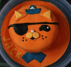 octonauts kwazi cake - Google Search