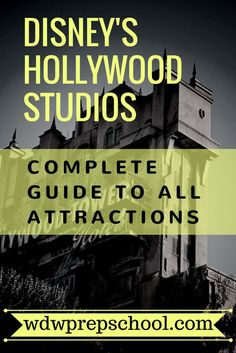 Not sure which attractions at Hollywood Studios are right for your family? We've got you covered | Complete list of ALL attractions at Hollywood Studios | When to visit | Recommendations | FastPass+ information | Walt Disney World | Star Wars | Toy Story