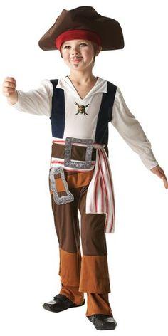 Lasten Naamiaisasu; Jack Sparrow. Tämä naamiaisasuinen kapteeni Jack Sparrow varmasti hurmaa paatuneimmatkin merten kauhujen sydämet eikä ole epäilystäkään etteikö tämä tyyppi ottaisi laivaa hyvään komentoon! Naamiaisasu on lisensoitu Pirates of the Caribbean Jack Sparrow -asu. Sisältää: - Yksiosaisen puvun - Hatun huivilla