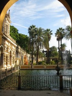 la real alcazar, sevilla, españa.  one of my favorite places in the world.  gorgeous architecture and gardens