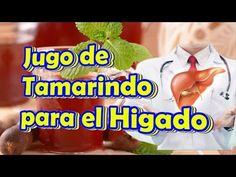 Como Desintoxicar el Higado Graso con el Agua de Tamarindo, Remedio Natural - YouTube