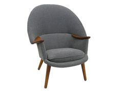 1950s Danish Armchair attributed to Nanna Ditzel