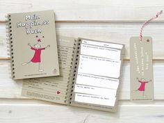 """MEIN HAPPINESS BUCH - Das Tagebuch für das Positive im Leben. Mit dem Lesezeichen, welches HAPPY macht """"Das wichtigste in meinem Leben bin ich!""""."""