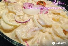 Majonézes burgonyasaláta Sylvia Gasztro Angyal konyhájából