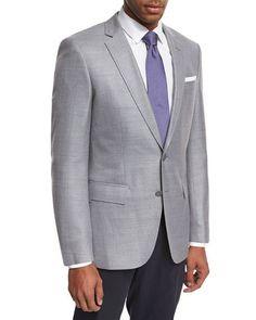 Collection Purple Twill Wool Silk Sport Coat | Sport coat, Man ...