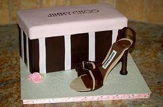 Cakes by Tatiana: Jimmy Choo Shoe Cake