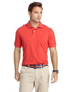 IZOD Short Sleeve Heritage Pique Polo