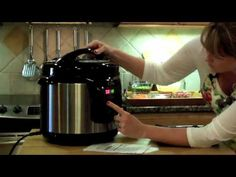 Electric Pressure Cooking - YouTube