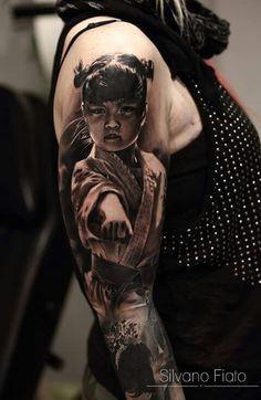 Tattoo by Silvano Fiato Creative Tattoos, Unique Tattoos, Cool Tattoos, Amazing Tattoos, Irezumi, In The Flesh, Skin Art, Best Artist, Black And Grey Tattoos