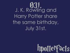 Harry Potter Fact 031