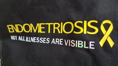 """My #endometriosis not all illnesses are visable cotton shopping bag. Wanted to try out different colours and the """"visable"""" is in holographic which frankly tipped me over the edge. It took 3 passes on custom #cricut holographic vinyl setting to cut through this vinyl! It I part of a bigger image but I had the settings wrong on my iron and completely melted my brand new rose gold htv!"""
